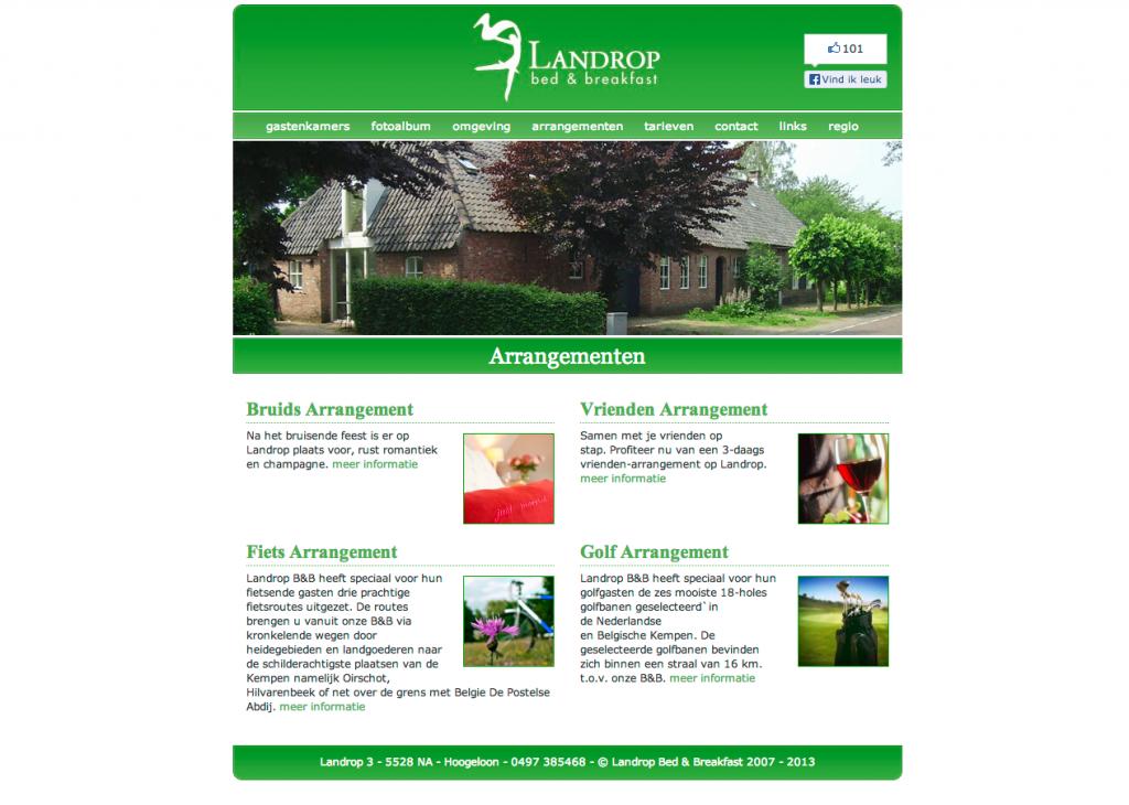 landrop-arrangementen